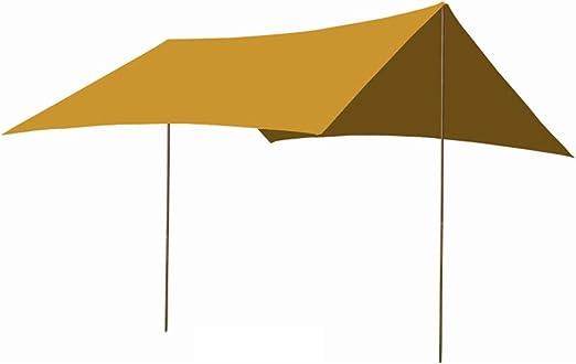 CAIJUN Toldo Impermeable Refugio Playa Lona Carpas De Camping ...