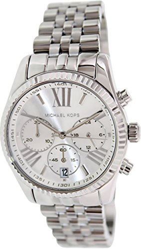 Michael Kors Women's Lexington Watch, Silver, One - Michael Lexington Kors Watches