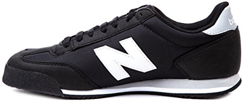 New Balance ML370BLW Mens Athletic Sneakers Retro Running Shoes Casual Trainers,Black White Grey
