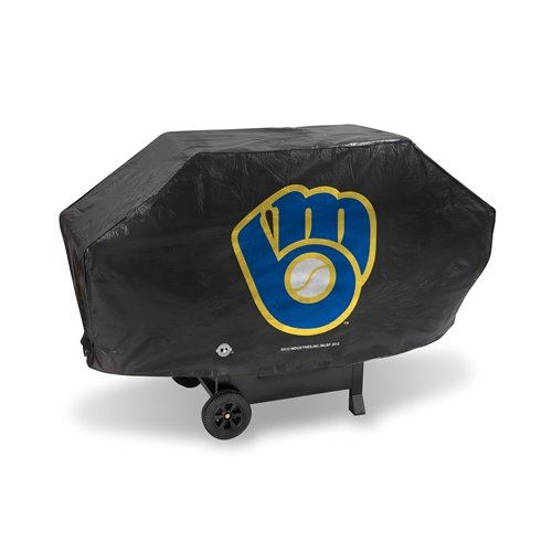 Milwaukee Brewers Mlb Pool - MLB Deluxe Grill Cover MLB Team: Milwaukee Brewers