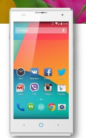 ZTE Blade G Lux V830 Unlocked GSM Dual-Core Android Smartpho