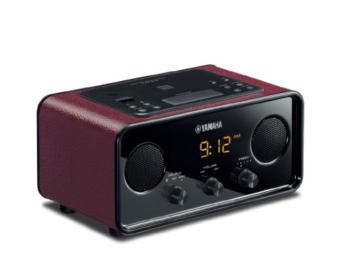 Yamaha TSX-B72DR Desktop Audio System (Dark Red) ()