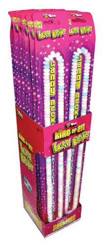 King of All Love Beads Giant Candy Necklace - 2 oz (Pack of - Candy Stretchable Necklaces