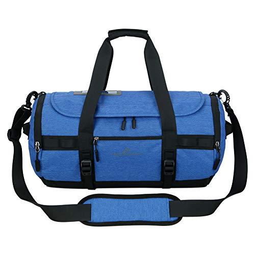 Polyvalent Léger Voyage Bagage Pochette Portable Chaussures Balls Bleu Dos Amovible Bandoulière Pour Meijunter Sport Sac De À Compartment PwFxI0q