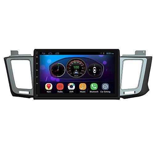 UGAR for Toyota RAV4 Stereo Android 4.4.4 Car Radio 2 Double Din GPS Navigation 10.1