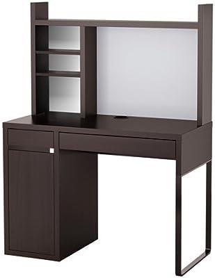 IKEA ordenador estación de trabajo, marrón 183838.82023.1020 ...