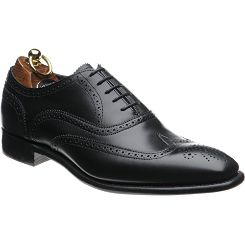 Hareng Gladstone II Chaussures richelieu en noir Mollet - marron - Black Calf, 40,5 EU