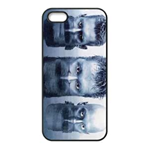Oomph 002 funda iPhone 5 5S Negro de la cubierta del teléfono celular de la cubierta del caso funda EOKXLKNBC17104