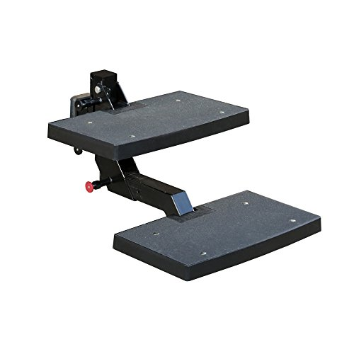 Solvit PetSafe PupSTEP HitchStep Pet Stairs, Steps for Truck and SUV Hitches, Great for Medium to Large (Two Step Stairs)