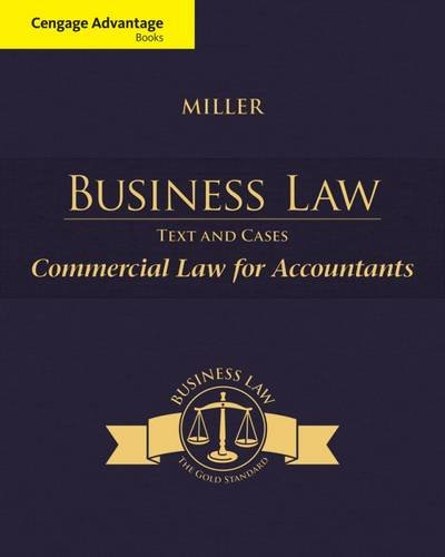 Business Law:Commercial Law F/Account.