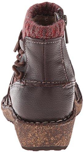 Aetrex Women's Tessa Short Sweater Boot Chocolate