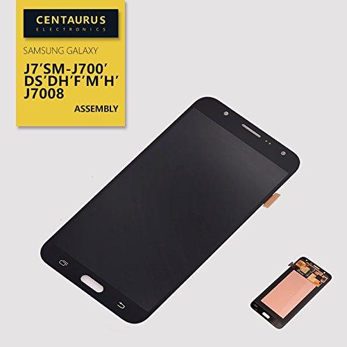 AMOLED Assembly for Samsung Galaxy J7 J700 J700H J700M J700DS J700F J700T J700P Touch Screen Digitizer LCD Display Full Replacement Black