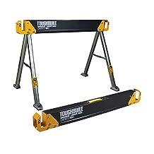 TOUGHBUILT C550 41.5-Inch Folding Sawhorse/Jobsite Table