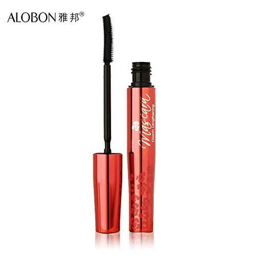 So Beauty : Ladies cosmetics thick curling lengthening wide-angle double silica gel brush 8.5ml mascara brand women makeup
