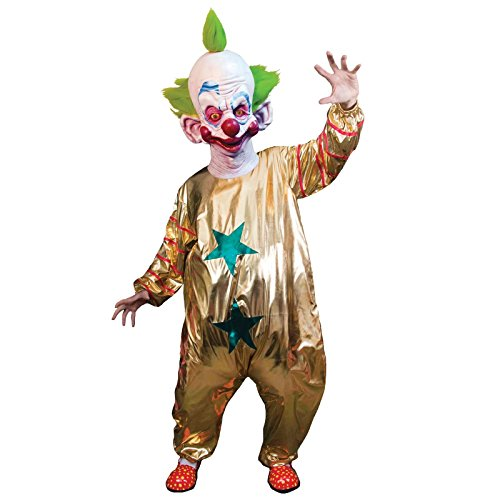Killer Klown Costume (Trick or Treat Studios Men's Killer Klowns From Outer Space-Shorty Costume, Multi, One Size)