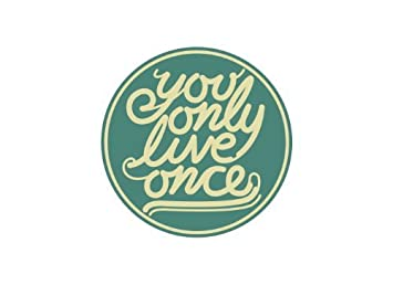 Amazoncom You Only Live Once Tattoo Set Of 2 Festival Party