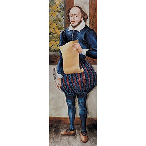 McDonald Publishing MC-H1405 Shakespeare Colossal Character Poster, 17.87