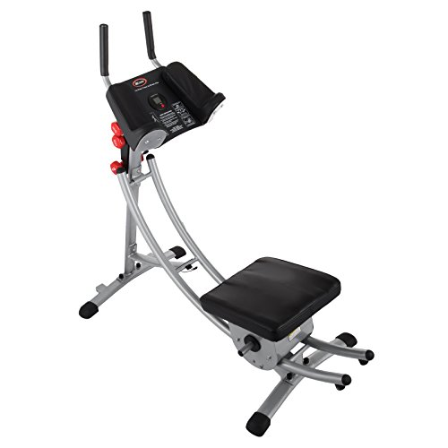 Popsport Abdomen Machine 330LBS Abdominal Coaster Abdomen Exercise Equipment with Adjustable Seat for Abdominal Muscle Training (Ab Coaster with 4 Dumbbells) by Popsport (Image #9)