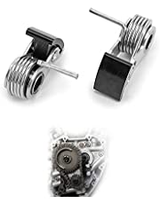 TIGERSGATE Camshaft Timing Chain Tensioner Set Inner Outer Compatible with Twin Cam(Touring,Softail,Dyna)