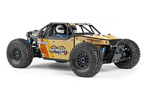 Team Associated 1/8 Limited Edition Nomad DB8 4WD Buggy Brushless RTR LiPo Combo, ()