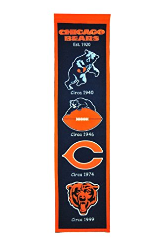 NFL Chicago Bears Heritage (Wool Nfl Banner)