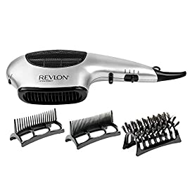 Revlon Perfect Heat 1875W Fast Dry Multi-Styler - 41nFcoQsxPL - Revlon Perfect Heat 1875W Fast Dry Multi-Styler, Black (SILVER)
