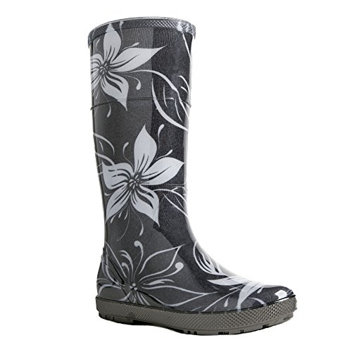 Demar Rubber Boots Rain Boots Hawai Lady Exclusive Flores