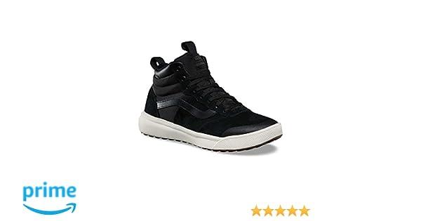 Amazon.com | Vans Mens UltraRange Hi MTE Skateboarding Shoes (8 D US, Black/White) | Fashion Sneakers
