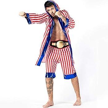 Amazon.com: Halloween New Boxing - Traje de boxeo para ...