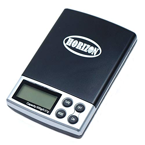 Horizon Ds-19 Digital Pocket Scale, Precision Jewelry Scale, 500g By 0.01g