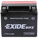 Exide/Fulmen YTX12-BS Batterie de moto - avec Acide