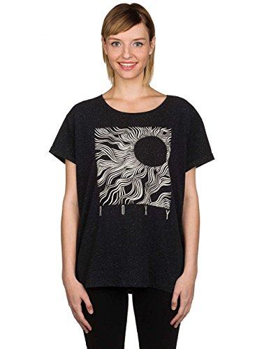 Roxy Boyfriend Call Of Hawaii W T-shirt M true black