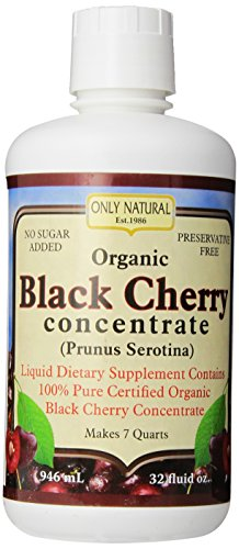 Only Natural Organic Black cherry Concentrates, (Natural Juice)