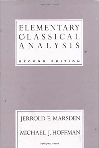 Amazon elementary classical analysis 2nd edition amazon elementary classical analysis 2nd edition 9780716721055 jerrold e marsden michael j hoffman books fandeluxe Gallery