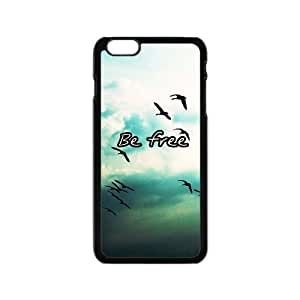 """19 Customized Be Free Diy Design For iPhone6 4.7"""" Hard Back Cover Case GP-404"""