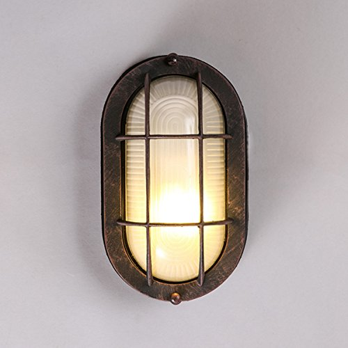 MASO HOME, Multi Fixtures of the Mini sized Flush Mount Ceiling Light Retro Fashion Simplicity Vintage Industrial and Modern Metal Based design of the wall lamp (Warm Light)