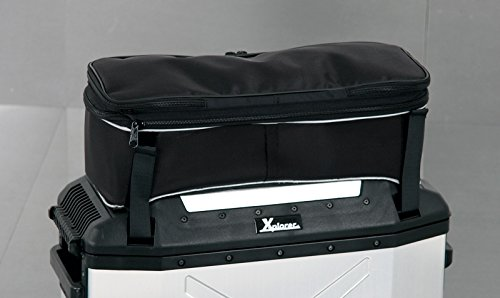 - Hepco & Becker Top Bag For Xplorer 40L Saddlebag Lid - black - 640.005 00 01