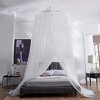 Aerb Moskitonetz Bett, Groß Mückennetz inkl. Montagematerial, Betthimmel, Mückenschutz, MoskitoschutzF, Fliegennetz auch...