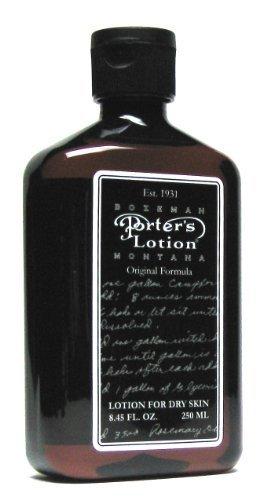 - Porters Original Lotion (8oz)