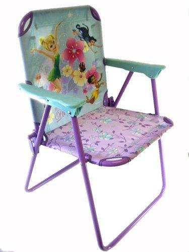 Disney Tinkerbell Flexible Metal Patio Chair - Tinkerbell Kids Patio Chair - Tinkerbell Kids Chair by Disney