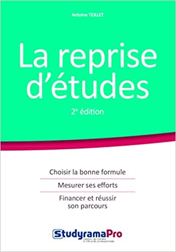 En ligne téléchargement gratuit La reprise d'études epub, pdf