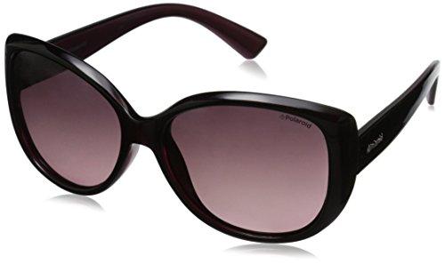 Polaroid Sunglasses Women's Pld4031s Cateye Sunglasses, Crystal Cherry/Burgundy Gradient, 58 - Polaroid Safilo