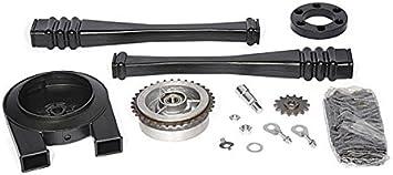Satz Antriebsteile S50 14 Teile Kette Kettenschutz Kettenschlauch Mitnehmer Ritzel Usw Auto