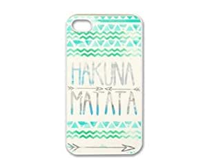 Hakuna Matata for Iphone 4 4s 4g Case Cover - For Apple Plastic Shell Hard Case Cover Protector