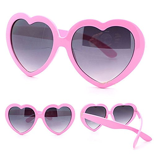 Fashion Retro Eyeglasses Pink Shaped Plastic Bluelans Cute Womens