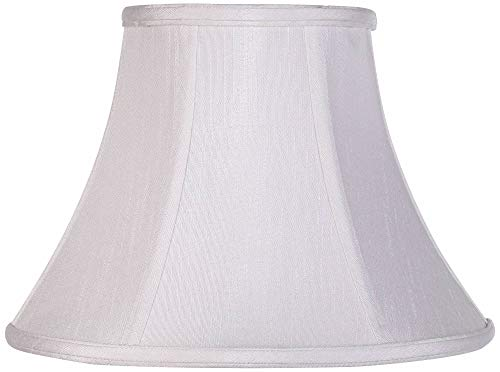 Oriental Shade - Imperial Collection White Bell Lamp Shade 6x12x9 (Spider) - Imperial Shade