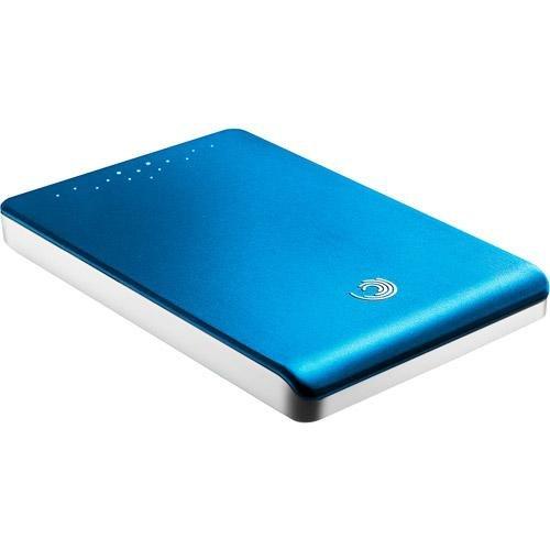 Seagate FreeAgent Go 320 GB USB 2.0 Portable External Hard Drive STAL320604 (Aqua Blue)