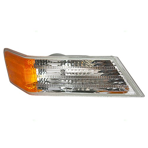 Passengers Park Signal Corner Marker Light Lamp Lens Replacement for Jeep SUV 68004180AB 68004180AC AutoAndArt