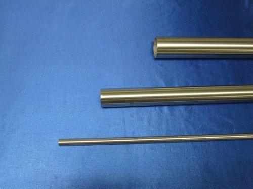 1800 mm 180 cm Rundrohr 33,7 x 2 mm V2A Edelstahl geschliffen