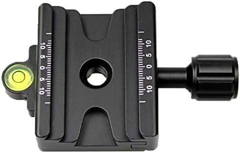 HyxppthiAAccessory Quick Release Plate Hyx FCD-1 Dual-use Knob Quick Release Clamp Adapter Plate Mount for 39mm Arca 32mm SLIDEFIX Quick Release Plate